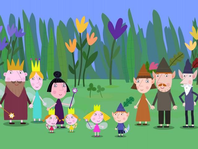 Маленькое королевство Бена и Холли (Гастон идёт в школу, Эльфы спасатели, Школа Люси, Очень важная персона, Банти II, Дейзи и Поппи идут в музей, День отца, Трудные времена, Короле)